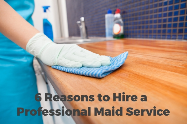 6 Reasons to hire professional cleaning services